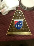 Vintage Old Style Beer Lighted Sign 1950s Or 1960s