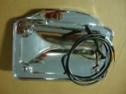 Big Dog Motorcycles Chrome License Plate Assembly With Tag Light 2003-11 Models