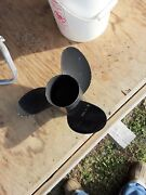 Yamaha Outboard Propeller 17-t Stainless Steel Like New For 250 H. P. Engine