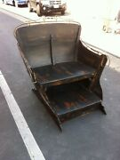 Authentic Antique 1890's Canadian Sleigh For Snow