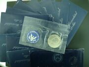 20 - Roll Specially Minted S Mint Mark 1971 Or 1972 40 Eisenhower Silver Dollar