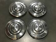 4 Vintage Ford Torino Wheel Covers Hubcaps 15 1973-1976 707/708