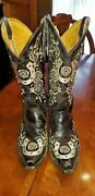 Womens Old Gringo Lucky Brown Boots Brown8