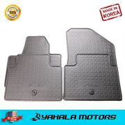 All Weather Rubber Floor Mats For 2014-2019 Kia Soul
