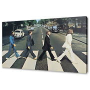 Beatles Abbey Road Canvas Print Picture Wall Art Design Free Fast Delivery