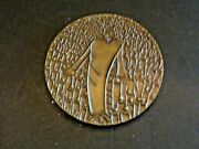 The Society Of Medalists Bronze Medal 85 Christ And Multitude Relief 1973