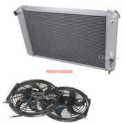 1996-2005 Chevy S/t Series Pickup Trucks 3 Row Champion Radiator And 12 Fans