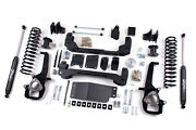 For Dodge Ram 1500 6 Suspension System W/ 3 Rear Lift Springs 2012 4wd