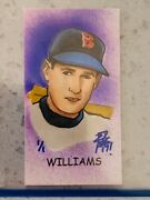 2017 Topps Allen Ginter Ted Williams Sketch Card 1/1 Brian Kong