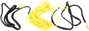 Moose Racing Synthetic Winch Cable 1/4x50and039 Yellow 4505-0618