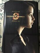 Original The Hunger Games Authentic 27x40 D/s Rolled Movie Poster.