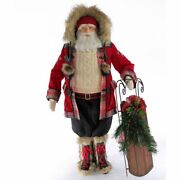 Katherine's Collection Aspen Santa Doll 36 Inches
