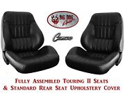Standard Touring Ii Fully Assembled Seats 1973 Camaro + Rear Seat Upholstery