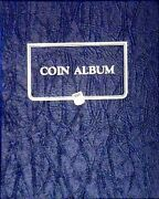 Whitman Blank Binder Universal Coin Album Model 9140 Collector No Pages Gift New