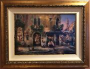 Cao Yong -evening In Venice- 20 X 30 - Signed S/n Hand Embellish With Coa