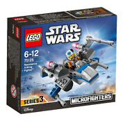 Lego Star Wars 75125 Microfighters Resisitance X-wing Fighter Box Slight Scratch