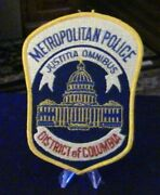 Retired Patch Metropiltan Police, District Of Columbia Police Patch