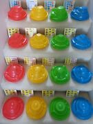 1982 Vintage And Very Rare Mcdonaldand039s Spaceship Happy Meal Complete Set W/stickers