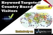 Drive 10000 Keyword Targeted Country Based Visitors