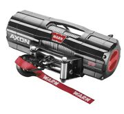Warn 101155 Axon 5500 Winch With 50and039 1/4 Steel Rope 5500 Lbs Atv Utv Offroad