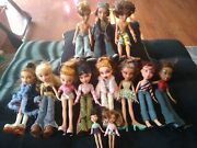 Huge Lot Of Bratz Dolls-boys-girls-babies-clothes-shoes And Accessories 2001-2003