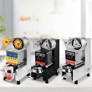 Automatic Cup Sealing Machine Sealer Tool Clear Film Large Useful Easy Operate