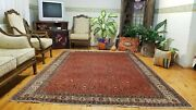 Rare Antique 1900-1930and039s Floral Bunyan Area Rug 7x10ft