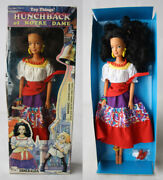 Rare Vintage 90's Hunchback Of Notre Dame Esmeralda Doll Toy Things New