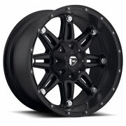 4 17x9 Fuel Matte Black Hostage Wheels 5x114.3 And 5x127 Ford Jeep Toyota Gm