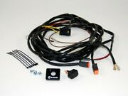 Kc Hilites Wiring Harness For 2 Lights W/2-pin Deutsch Connectors 110w Max To
