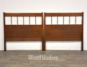 Solid Birch Planner Group Twin Headboards- A Pair