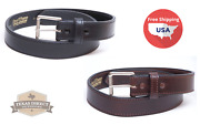 Ccw Concealed Carry Brown Leather Work Belt Scratch-n-dent Save