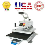 16and039and039x20and039and039 T-shirt Heat Press Machine Swing Away Digital Magnetic Semi-auto+gift