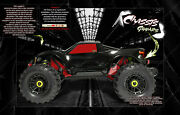 Traxxas Maxx 4s Hop-up Chassis / Window Wrap And039carbon Fiberand039 Decals Graphics