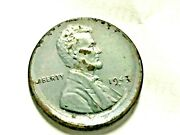 6 Percent Off Center Steel Penny 1943 S Looks Uncirculated