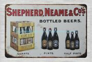 Shepherd,neame And Co's Bottled Beers Metal Tin Sign Plaque Wall Hangings