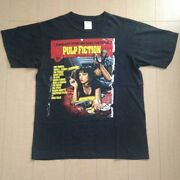 Pulp Fiction Movie Vintage Official T Shirt 1994 Usa Made Miramax Used Mens L Fs