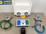 Porter Sentinel Manifold System Flowmeter For Oxygen And Nitrous Excellent Used