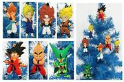 Dragon Ball Z Christmas Tree Ornaments 7 Piece Set 3 Inches Tall Brand New