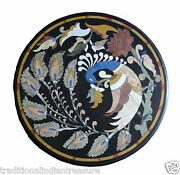 30 Black Marble Dining Table Top Handmade Peacock Arts Home Outdoor Decor Arts