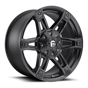 4 20x9 Fuel D624 Matte Black Dakar Wheels 5x139.7 And 5x150 For Ford Jeep Gm