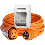 Smartplug 30 Amp Dual Config. 50' Cordset W/tinned Wire And Twist-type Connector
