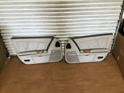 2005 04 05 06 Cadillac Xlr Door Panels Left And Right Side