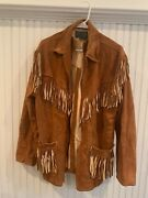 Rare Vintage Polo Country 100 Leather/suede Jacket