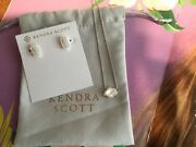 """Kendra Scott Ethan Pendant Necklace 16"""". With Betty Earrings."""