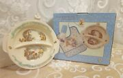 Classic Winnie The Pooh Divided Warming Plate With Suction Ring New Unused Box
