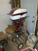Johnson Outboard Boat Motor 35 Hp Can Be Palleted For Ltl Pick Up @ Buyer Expnce