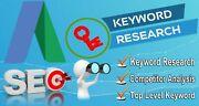 Do Seo Keyword Research And Competitor Analysis- Premium Package