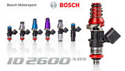 Injector Dynamics High Imp. 2600xds Fuel Injectors For 16-18 Ford Focus Rs