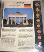 2002 To 2003 Coins From Around The World - Postal Commemorative Society-germany